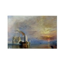 William Turner The Fighting Temer Rectangle Magnet