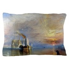 William Turner The Fighting Temeraire Pillow Case