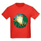 Tree frog Kids T-shirts (Dark)