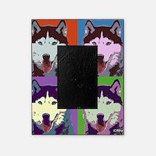 Husky Pop Art Picture Frame
