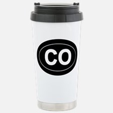 CO - Colorado Stainless Steel Travel Mug