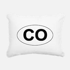 CO - Colorado Rectangular Canvas Pillow