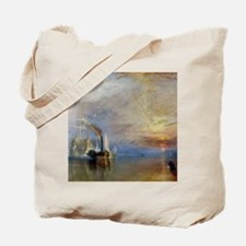 William Turner The Fighting Temeraire Tote Bag