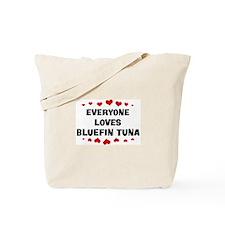 Loves: Bluefin Tuna Tote Bag