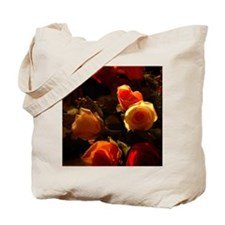 Roses I - Orange, Red and Gold Glory Tote Bag