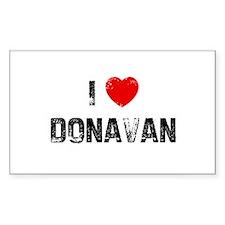 I * Donavan Rectangle Decal