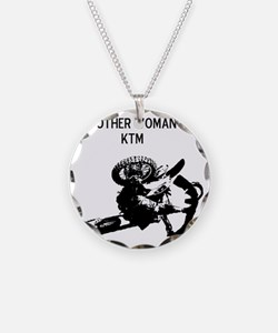 motocross my other woman is  Necklace
