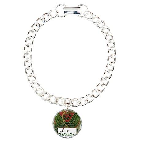 Card Logo 2 Charm Bracelet, One Charm