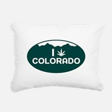 CO - Colorado Rectangular Canvas Pillow