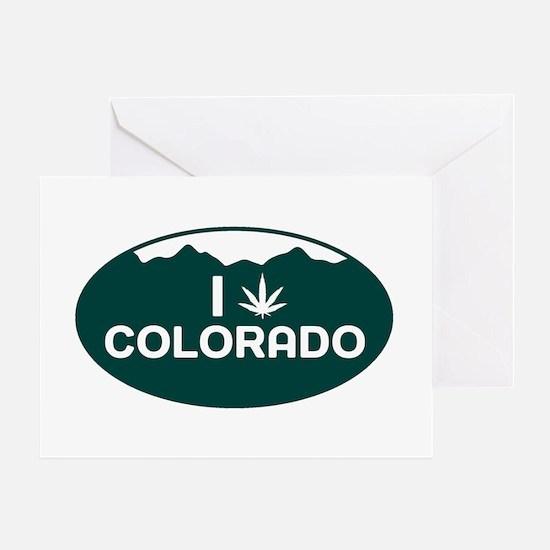CO - Colorado Greeting Card