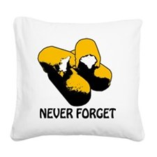 Twinkies Never Forget Transpa Square Canvas Pillow