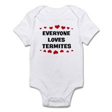 Loves: Termites Infant Bodysuit