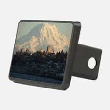 Mt. Rainier with city Hitch Cover