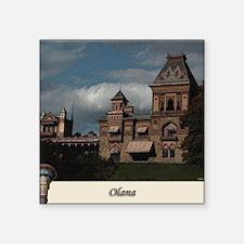 "Olana Frederick Church Square Sticker 3"" x 3"""