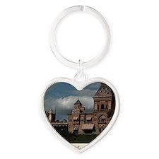 Olana Frederick Church Heart Keychain