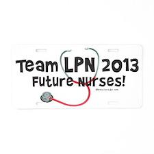 Team LPN 2013 Aluminum License Plate