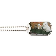 Bunny Trio Christmas Dog Tags