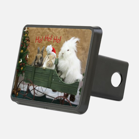 Bunny Trio Christmas Hitch Cover