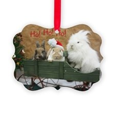 Bunny Trio Christmas Ornament