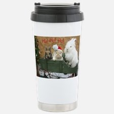 Bunny Trio Christmas Travel Mug