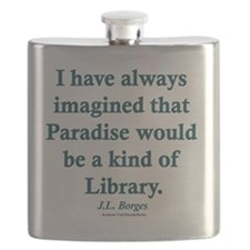 Paradise is a Library Flask
