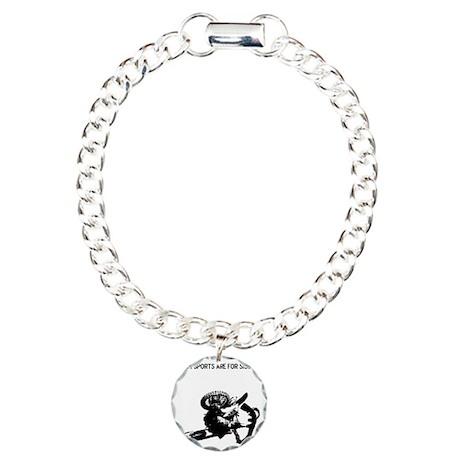 motocross team sports ar Charm Bracelet, One Charm