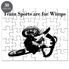 motocross team sports are for wimps Puzzle