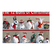 Twelve Buns of Christmas Postcards (Package of 8)