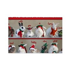Twelve Buns of Christmas Rectangle Magnet