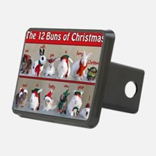 Twelve Buns of Christmas Hitch Cover