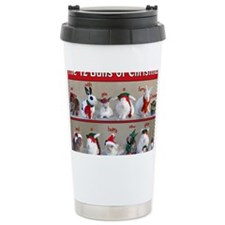 Twelve Buns of Christma Travel Mug