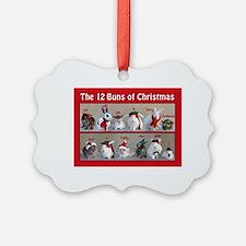 Twelve Buns of Christmas Ornament
