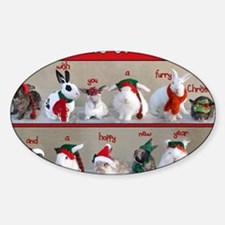 Twelve Buns of Christmas Decal