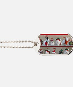Twelve Buns of Christmas Dog Tags
