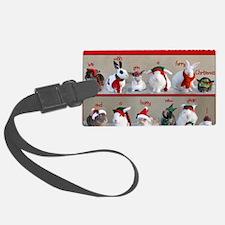 Twelve Buns of Christmas Luggage Tag