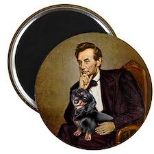 Lincolns Dachshund (BT) Magnet