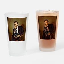 Lincolns Dachshund (BT) Drinking Glass
