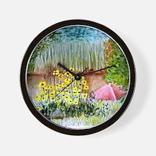 Chrystal Lake Wall Clock