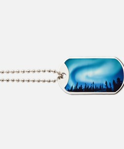 Winter Solstice Cards Dog Tags