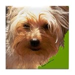 Yorkie Tile Coaster