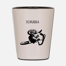 motocross scrubba Shot Glass