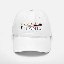 Sinking Titanic Baseball Baseball Cap