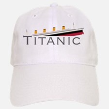Sinking Titanic Cap