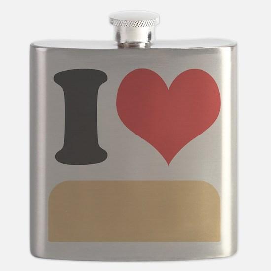 I heart Twinkies Flask