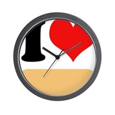 I heart Twinkies Wall Clock