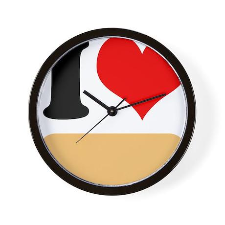 I heart Twinkies Wall Clock