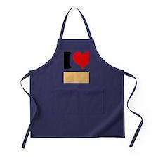 I heart Twinkies Apron (dark)