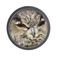 Eurasian Eagle Owl Wall Clock