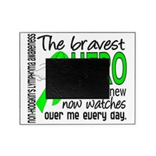 D Non-Hodgkins Lymphoma Bravest Hero Picture Frame