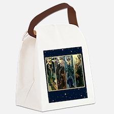 Morning Night Moon Sun Canvas Lunch Bag
